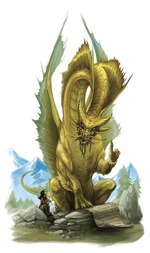 Gold Dragons | Gold dragon - The Forgotten Realms Wiki - Books, races, classes, and ...