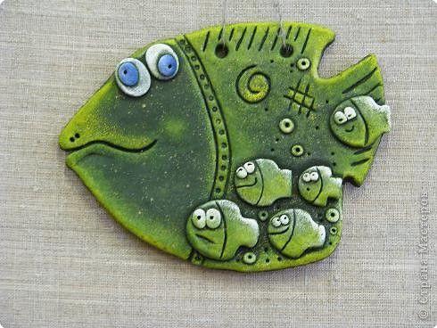 Картина панно рисунок Лепка Наши ПОВТОР-юшки  Тесто соленое фото 1  Надя, 13 лет