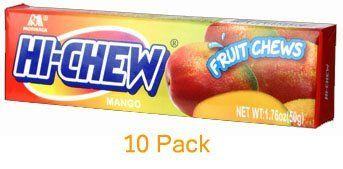 Morinaga  HiChew Mango Fruit Chews Candy 10 Pack Display Case -- Check out the image by visiting the link.Note:It is affiliate link to Amazon.