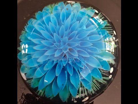 How to make Gelatin Art Jello Flowers - YouTube
