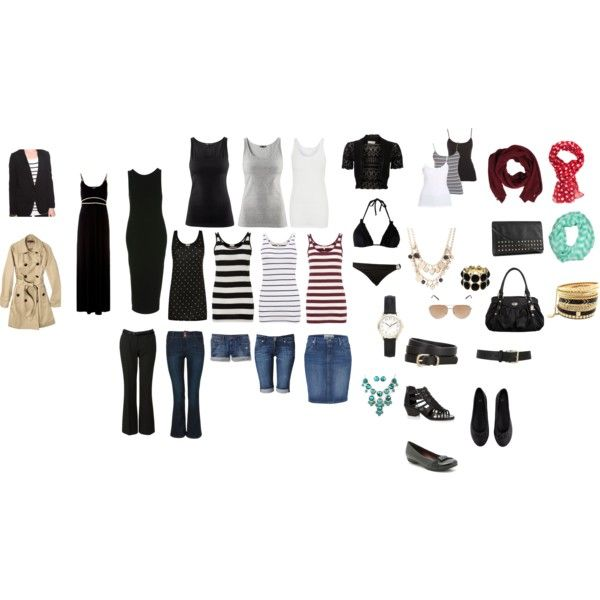 """""""Black and White Holiday Capsule"""" by katestevens on Polyvore"""