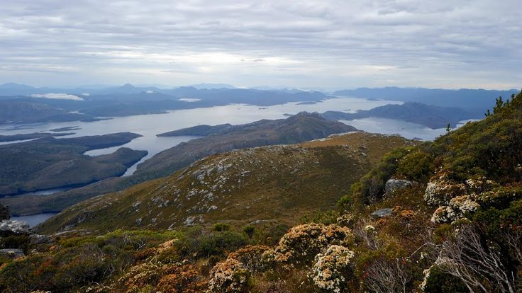 Panoramio - Photo of Lake Pedder from Mt. Sprent