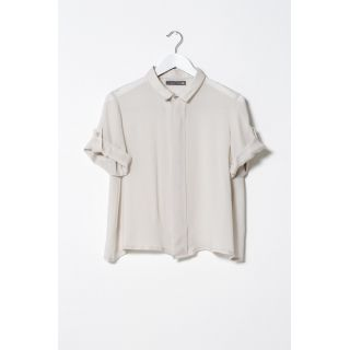 """Silk Double Collar Shirt 