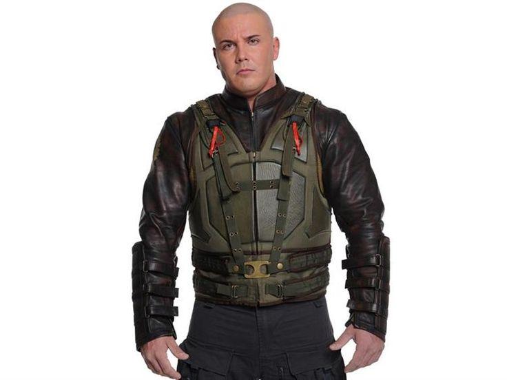 The Dark Knight Rises Bane Leather Jacket & Vest - $724.99