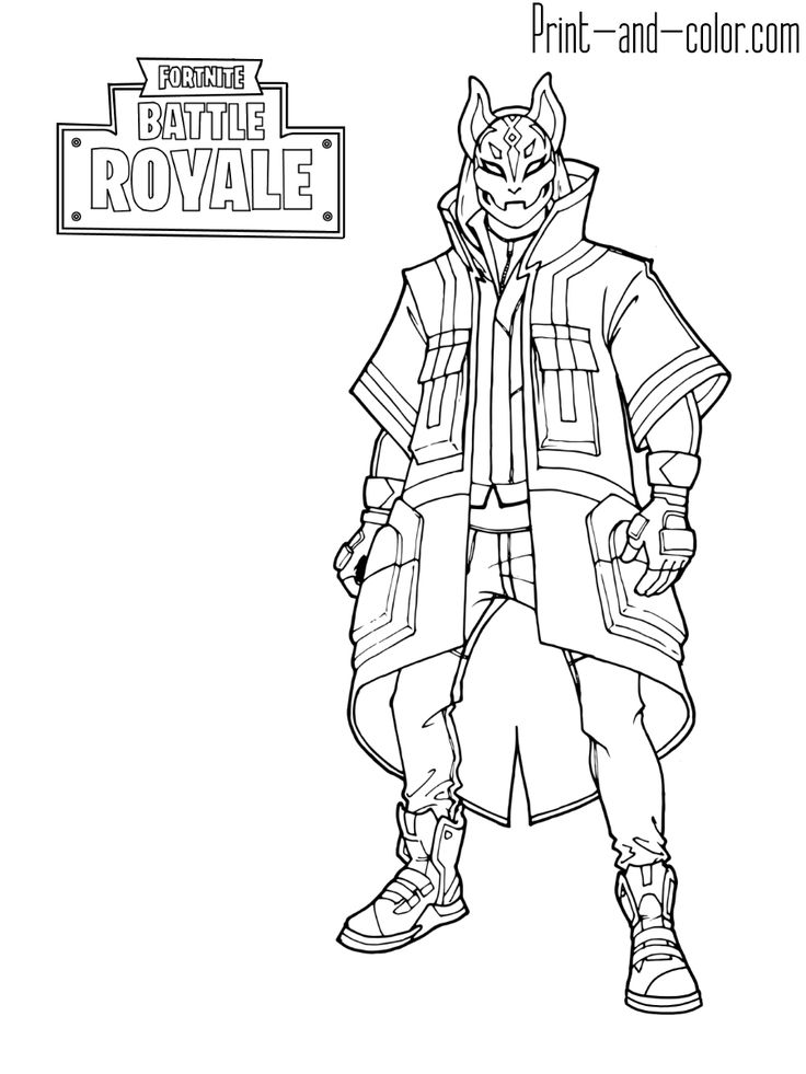 Fortnite Coloring Pages Print And Color Com Disegni