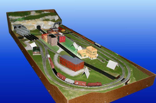 Gateway Central Xi N Scale Model Railroad Layout Gateway Nmra N Scale Train Layout Model Railroad Train Layouts