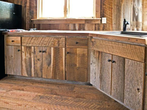 Barnwood Cabinet Door Photo 8 Of 9 Custom Crafted Barn Wood Cabinets