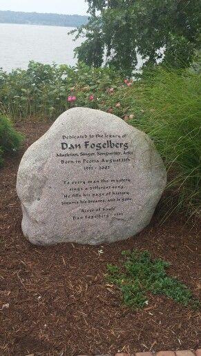 Dan Fogelberg Memorial - Peoria, Illinois
