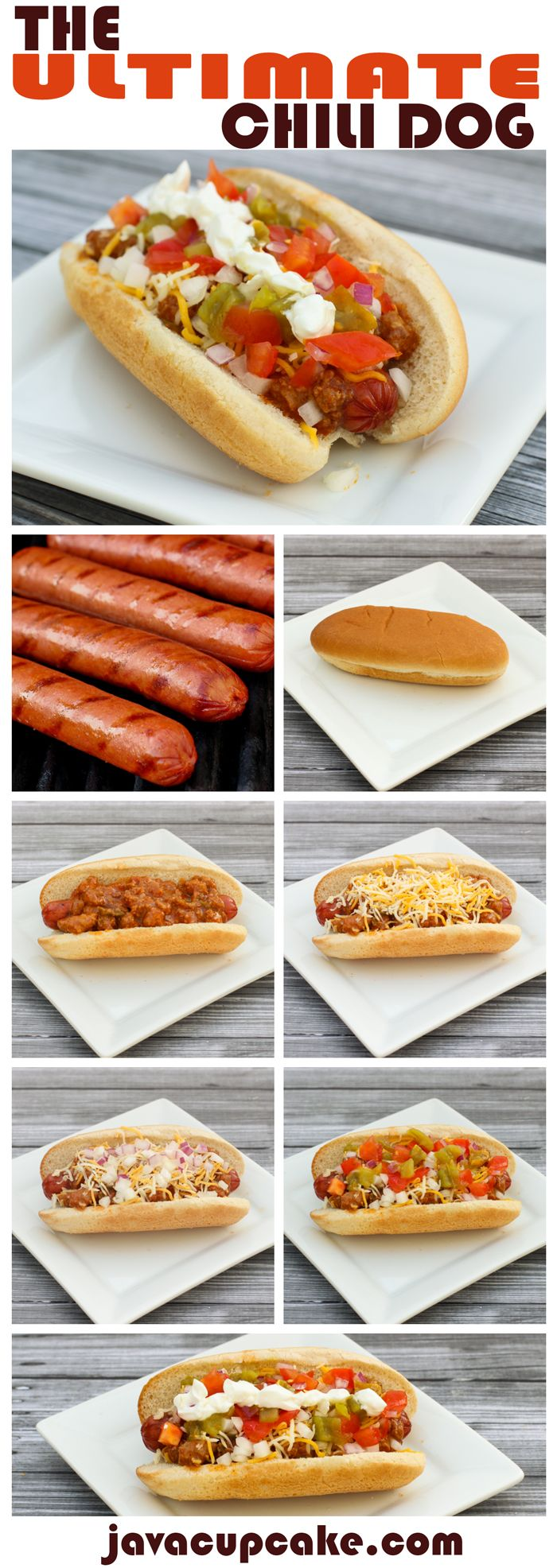 Celebrate National Hot Dog Day with The Ultimate Chili Dog! | JavaCupcake.com