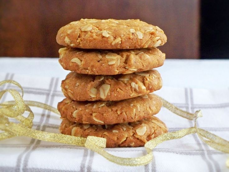 Honey, Oat & Cardamom Cookies