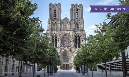 Golden Tulip Reims L'Univers à Reims : 1 à 3 nuits avec dîner et champagne à Reims: #REIMS 69.00€ au lieu de 161.00€ (57% de réduction)