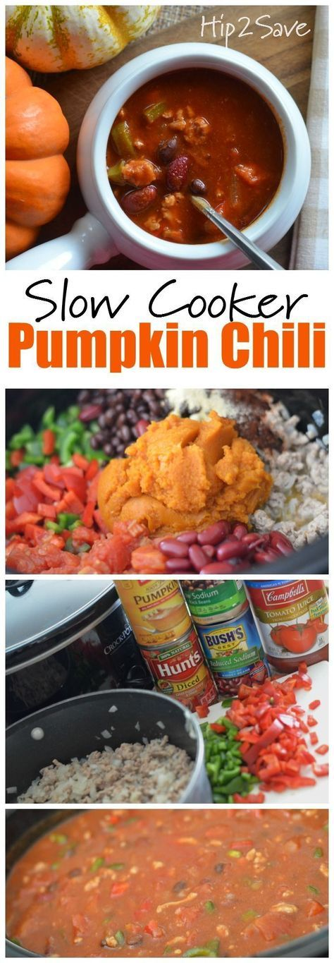 If you're looking for a unique and delicious way to incorporate pumpkin into your meals this Fall, try this easy to make Pumpkin & Ground Turkey Chili recipe. This yummy and comforting meal is perfect for cooler weather. Why Pumpkin? It actually gives the