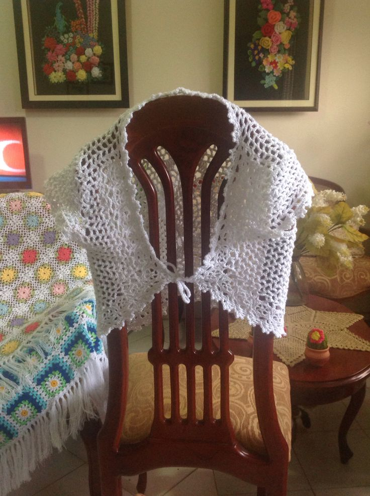 Chaleco en crochet para dama, crochet jacket for ladies.