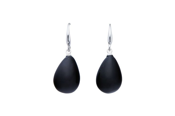 Cubby Black earrings from Louenhid 419.95 AUD. The only problem with these earrings is what colour to choose - black, blue, navy, chambray, dove grey putty, melon or tangerine.