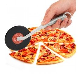Cortador de pizza vinil - Vermelho