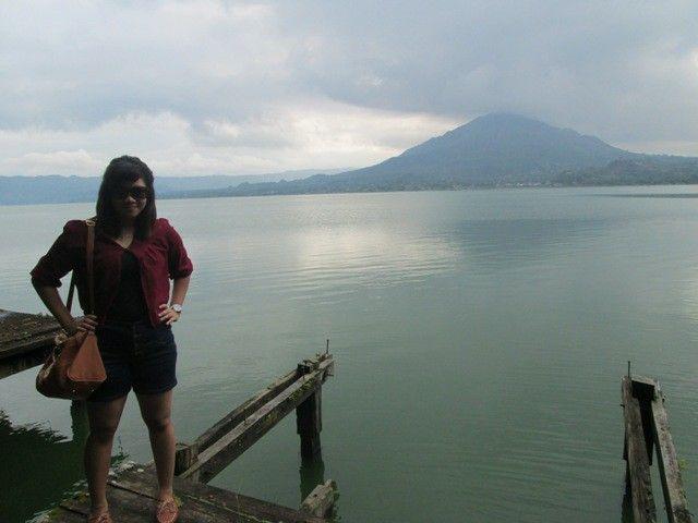 Pemandangan di Trunyan Bali