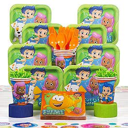 Bubble Guppies Party Supplies, Decorations and Ideas