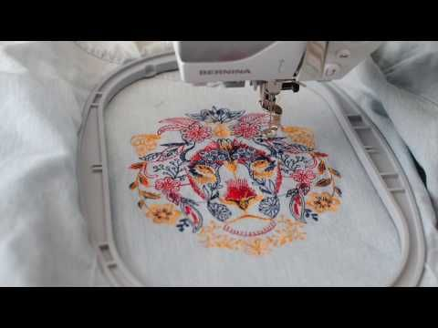 HOW TO: Upcycle clothing with embroidery - YouTube
