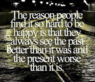 The reason...