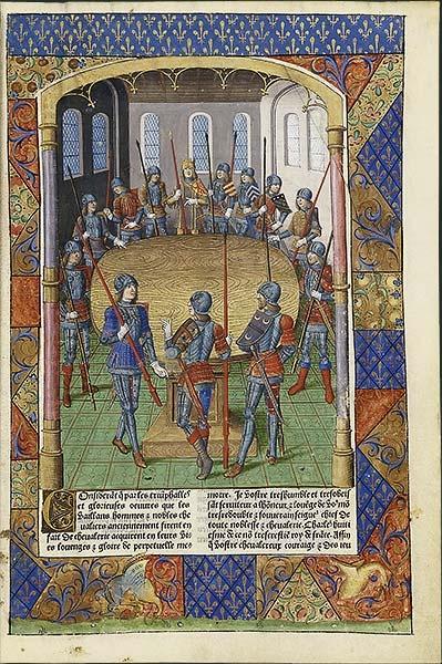 BnF - La légende du roi Arthur