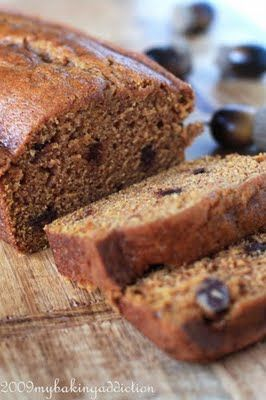 Chocolate Chip Pumpkin Bread | My Baking Addiction