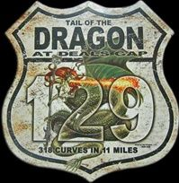 Been there . Done that. Can't wait to do it again! Dragon's Tail AT DEALS GAP, NC, with 318 curves in 11 miles, is America's number one motorcycle and sports car road.