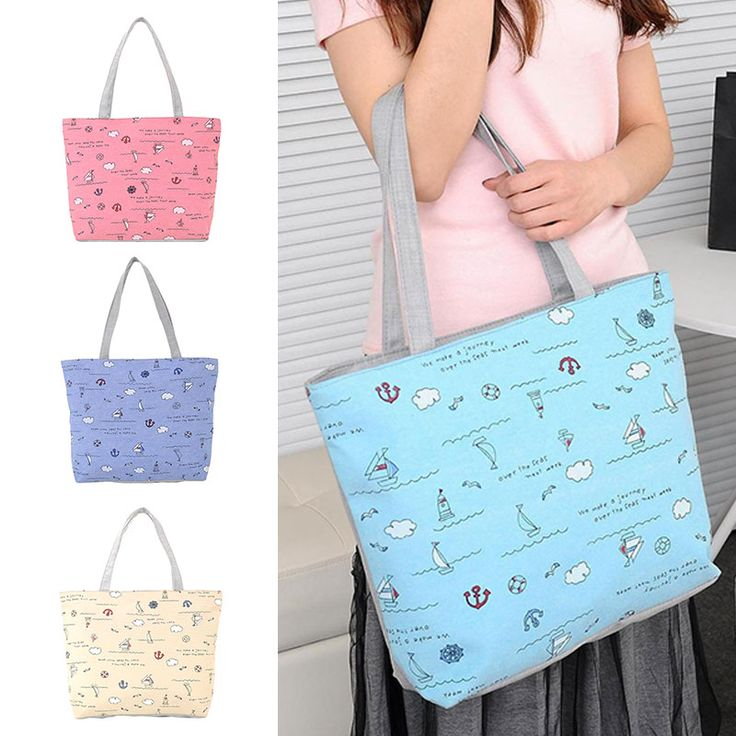 Ocean Wind Canvas Handbag Preppy School Bag for Girls Women's Handbags Cute Bags BS88 //Price: $7.99 //       #LiveYoungLiveFree    #cute #instagood #beautiful #dandg #picoftheday #cocochanel #girl #brandonflowers #love #tagblender #dolceandgabbana #lovely #branded #instabrands #good #photooftheday #brands #me #brandy #iphonesia #chanel #awesome #tweegram #tbt #brandname #instamood #brandon #brandymelville #louisvuitton #brand