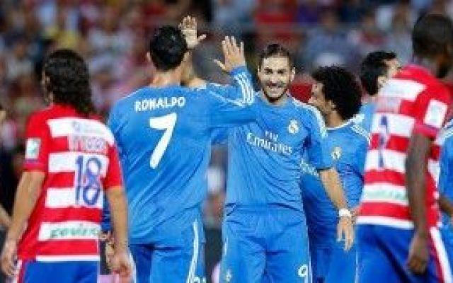 """Liga, il Real Madrid """"imita"""" il Barça: vittoria di misura sul Granada... #Calcio"""