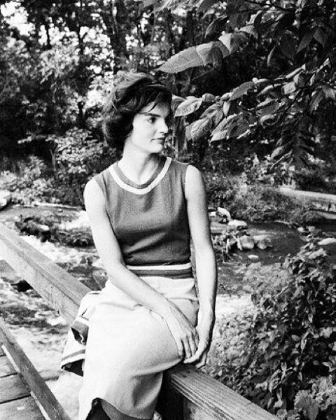 Jacqueline Bouvier Kennedy in Georgetown, 1959