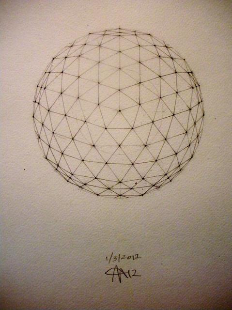 Pentakis Dodecahedron Geodesic Sphere