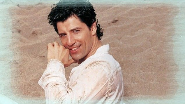 Eurovision Song Contest hopeful Sakis Rouvas representing Greece.