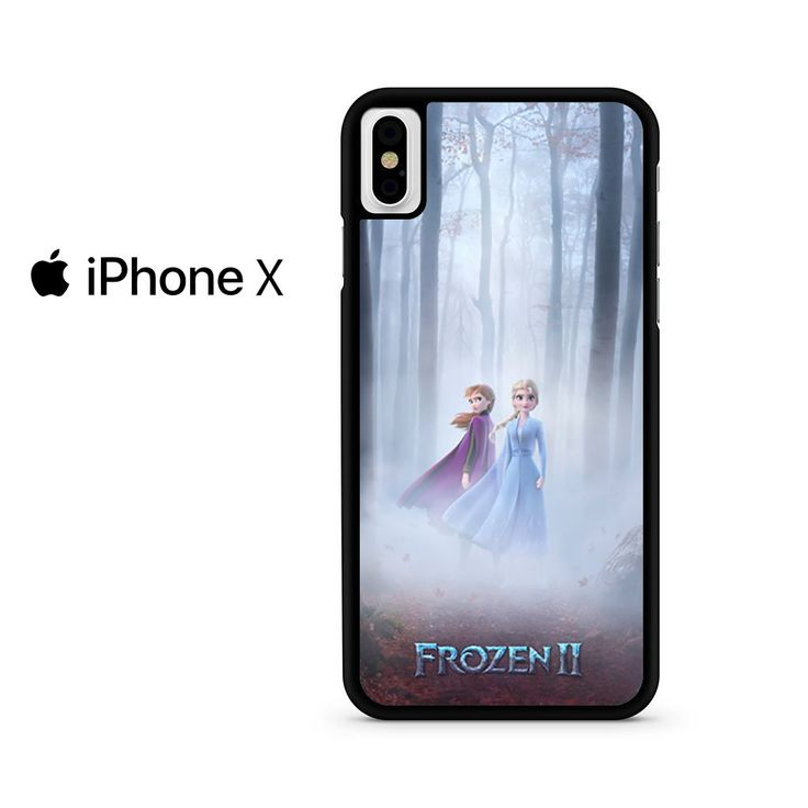 Frozen 2 new poster anna and elsa for iphone x case di 2020