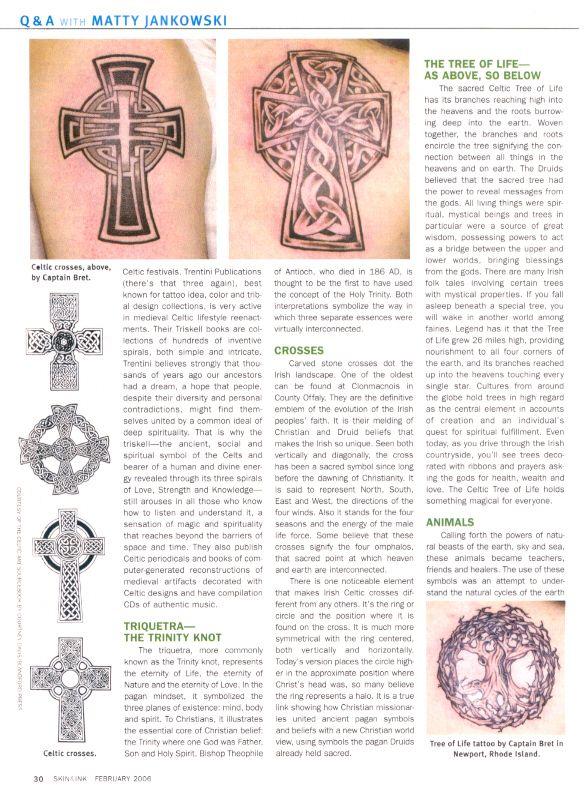 Celtic tattoo meanings