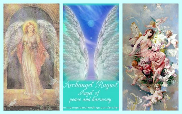 ^♥^ ☫ ^i^ Ꭿɲɠҽℓʂ ^i^ ☫ ^♥^ ~ Archangel Raguel Angel of Peace and Harmony…