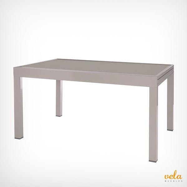 Mesa de jardín de aluminio bonita, solida y moderna. Echa un vistazo al precio ahora