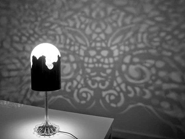 Ilumtech Design Zone » 3D printed 'Lacelamps' fill entire rooms with delicate patterns