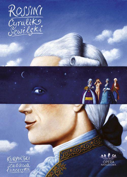 Seville Italian Barber Poster