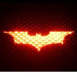 Batman brake light cover, drive your own Batmobile! $11.99 http://wicked-gadgets.com/batman-brake-light-cover/ #batman #gadget #car gadget