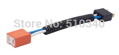 16AGW 14.5cm Cable H7 right Male And Female electrical plug Socket, H7 headlight Bulb Holder with electrical wire
