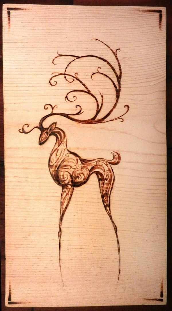 20 DIY Wood Burning Art Project Ideas & Tutorials | Wood Burning ...