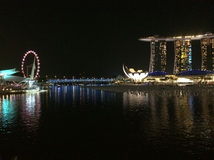 Marina Bay Sands at night 3