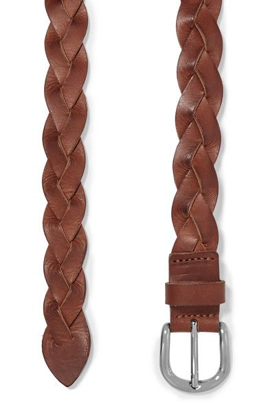 Étoile Isabel Marant - Braided Leather Belt - Brown - S