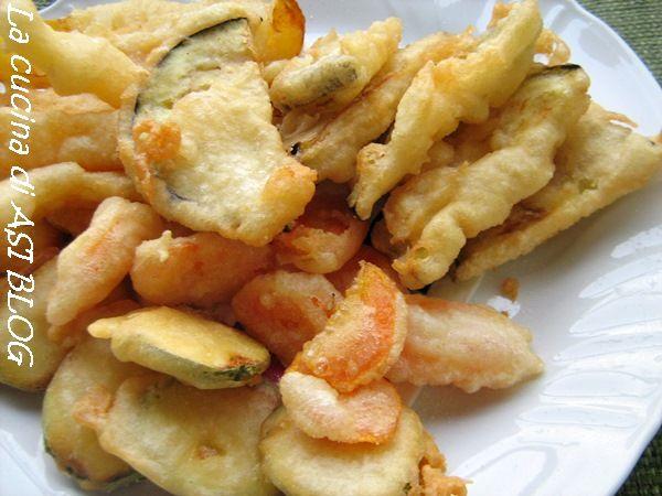 tempura vegetariana La cucina di ASI