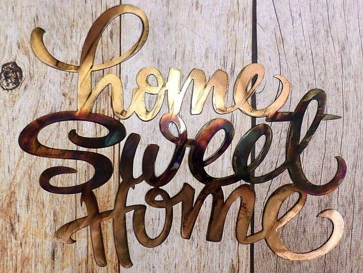 Metal Home Sign Decor 66 Best Custom Metalwork Images On Pinterest  Plasma Cutting