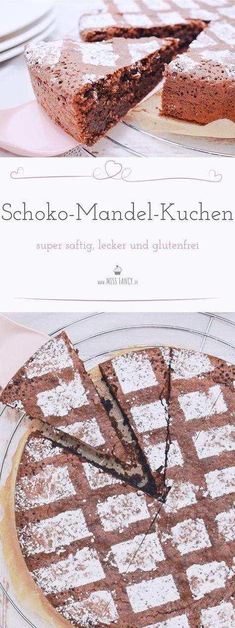 Einen Schokoladenkuchen der super saftig ist und dazu noch glutenfrei, kann du ganz einfach selber backen. #glutenfrei #schokolade #schokoladenkuchen