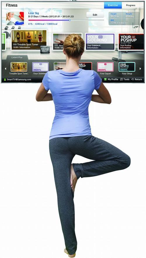 A Samsung legújabb Smart TV-i mint fitness edzők. - Üdítőt szürcsölve, chipset majszolva a kedvenc szappanoperád nézni – ez jut eszedbe a televíziózásról? A Samsung legújabb Smart TV-ivel ennél jóval többet is kihozhatsz a korábban kizárólag passzív szórakozásból, a tévézésből!