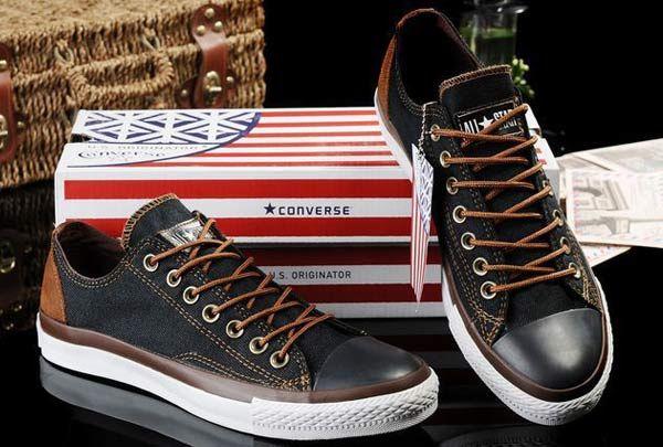 2014 New Black Denim Converse All Star Low Top Sneakers Vampire Diaries converse con borchie converse chuck taylor online