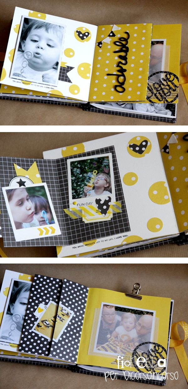 Gorgeous mini-album...very detailed pictures to make my own:)