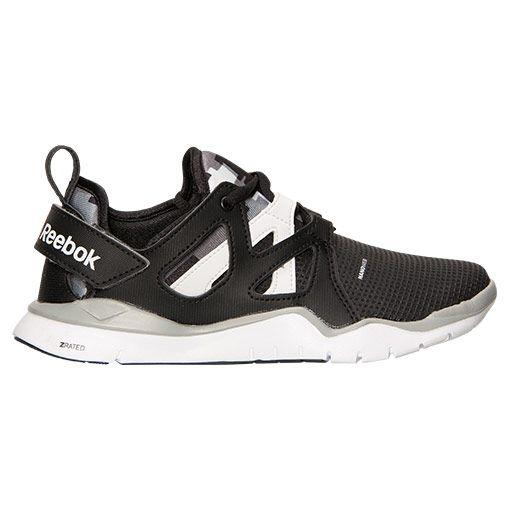 FinishLine | Reebok ZCut TR Running Shoes – Black/Flat Grey/White, $35