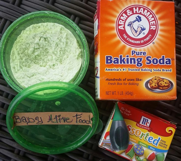 Baby Alive Food Recipe